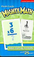 Mighty Math Flash Cards Multiplication