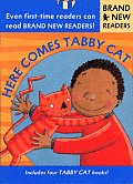Here Comes Tabby Cat Brand New Readers With 4 8 Page Books in Slipcase