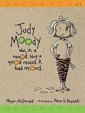 Judy Moody 01 Judy Moody Was in a Mood Not a Good Mood a Bad Mood