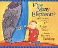 How Many Elephants Lift The Flap Countin
