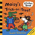 Maisys Trick Or Treat Sticker Book With Stickers
