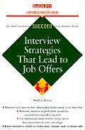 Interview Strategies That Lead to Job Offers