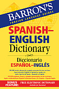 Barrons Spanish English Dictionary Diccionario Espanol Ingles
