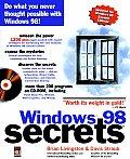 Windows 98 Secrets with CDROM (... Secrets)