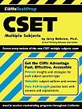 Cliffs Test Prep Cset Multiple Subjects