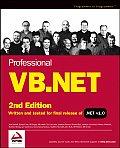 Professional Vb.net 2nd Edition