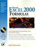 Microsoft Excel 2000 Formulas with CDROM