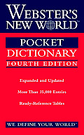 Websters New World Pocket Dictionary 4th Edition