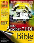 Adobe Acrobat 7 PDF Bible with CD (Audio) (Bible)