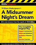 Cliffscomplete Shakespeares A Midsummer