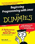 Beginning Programming With Java For Dummies 2nd Edition