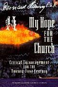 My Hope For The Church Critical Encourag