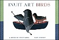 Inuit Art Birds Book of Postcards