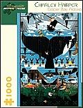 Charley Harper Glacier Bay Alaska 1000 Piece Puzzle