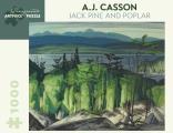 A.J. Casson: Jack Pine and Poplar 1,000-Piece Jigsaw Puzzle