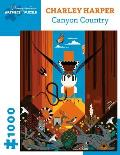 Canyon Country Charley Harper 1000 Piece Puzzle