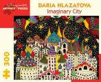 Daria Hlazatova Imaginary City 300 Piece Jigsaw Puzzle