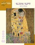 Gustav Klimt The Kiss 1000 Piece Jigsaw Puzzle