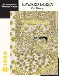 Edward Gorey: Cat Fancy 1000 Piece Jigsaw Puzzle
