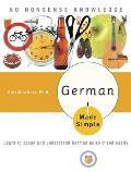 German Made Simple Learn to Speak & Understand German Quickly & Easily