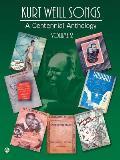Kurt Weill Songs A Centennial Anthology Volume 2 Piano Vocal Chords