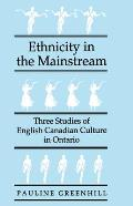 Ethnicity In The Mainstream Three Studie