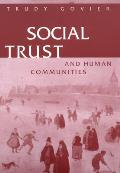 Social Trust and Human Communities