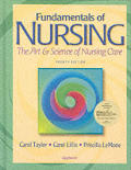 Fundamentals Of Nursing The Art & Scienc