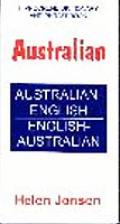 Hippocrene Dictionary & Phrase Book Australian