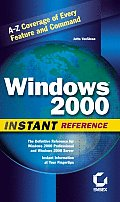Windows 2000 Instant Reference