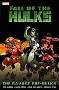 Hulk Fall Of The Hulks The Savage She Hulks