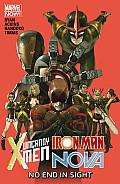 Uncanny X Men Iron Man Nova Specials