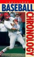 Baseball Chronology