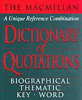 Macmillan Dictionary Of Quotations