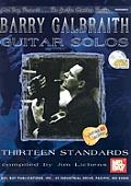 Barry Galbraith Guitar Solos Thirteen Standards With CD