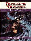 D&D 4th Ed Psionic Power