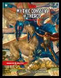 D&D 5th ED Mythic Odysseys of Theros D&d Campaign Setting & Adventure Book