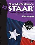 Swyk on Staar Math Gr 8, Parent/Teacher Edition: Preparation for the State of Texas Assessments of Academic Readiness