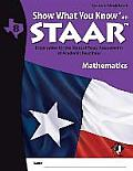 Swyk on Staar Math Gr 8, Student Workbook: Preparation for the State of Texas Assessments of Academic Readiness