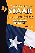 Swyk on Staar Math Flash Cards Gr 7: Preparation for the State of Texas Assessments of Academic Readiness