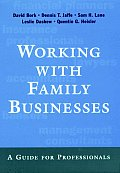 Working With Family Businesses A Guide For