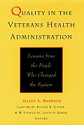 Quality In The Veterans Health Administr