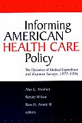 Informing American Health Care Policy: The Dynamics of Medical Expenditure and Insurance Surveys, 1977-1996