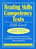 Reading Skills Competency Tests: Fifth Level