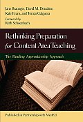 Rethinking Preparation for Content Area Teaching The Reading Apprenticeship Approach
