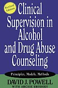 Clinical Supervision In Alcohol & Drug Abuse Counseling Principles Models Methods