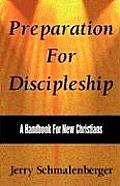 Preparation for Discipleship