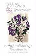 Wedding Sermons & Marriage Cer