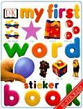 My First Word Sticker Book (My First Sticker Books)