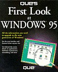 Que's First Look at Windows 95